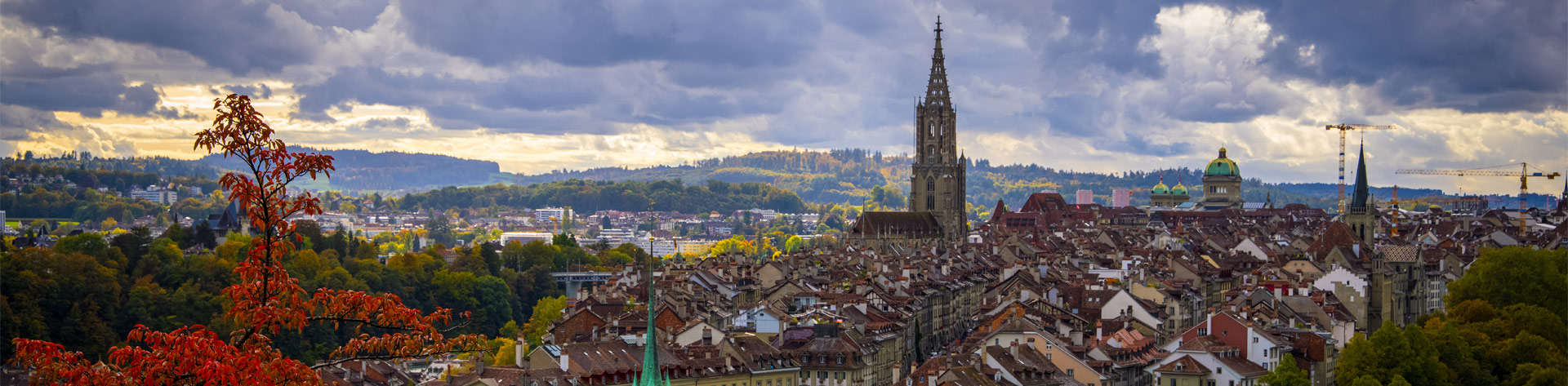 Panoramablick über Die Stadt Bern Capital City AdobeStock 392151884 1920x
