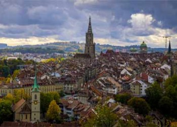 Panoramablick über Die Stadt Bern Capital City AdobeStock 392151884 400x