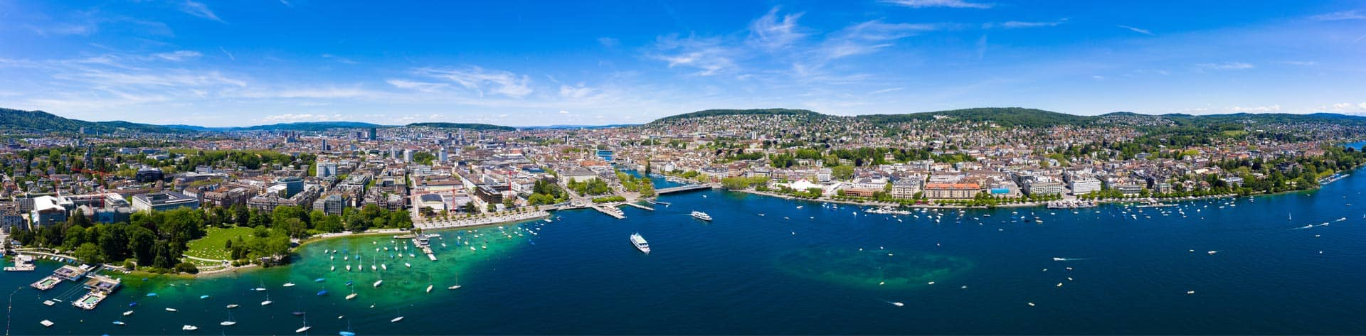 Panoramic Aerial View Of Zurich City In Switzerland AdobeStock 272422779 1920x