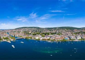 Panoramic Aerial View Of Zurich City In Switzerland AdobeStock 272422779 400x
