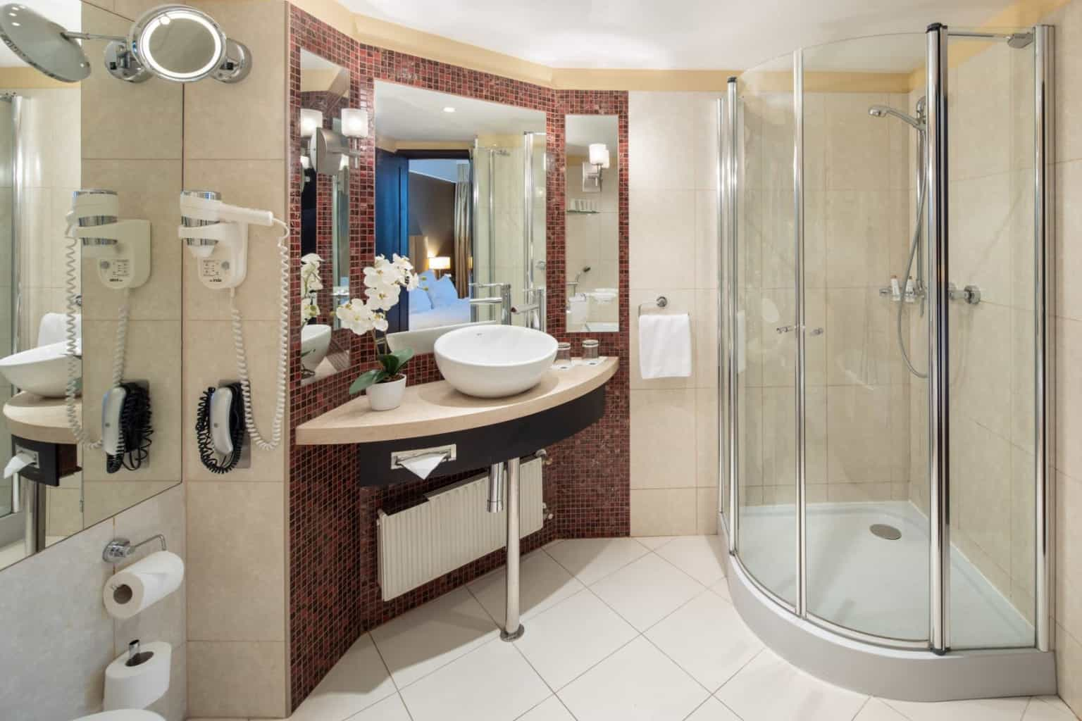The Aquincum Hotel Budapest Suite Bathroom 2