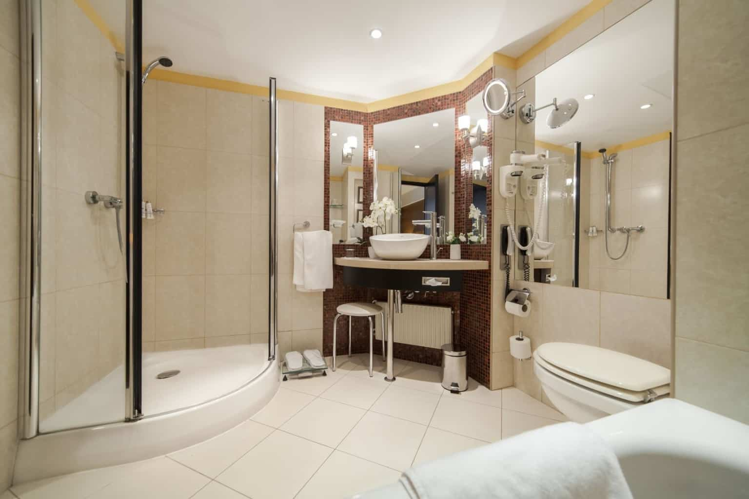 The Aquincum Hotel Budapest Suite Bathroom 3